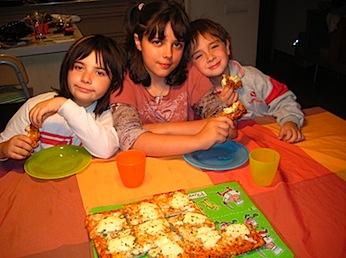 Pizza als 6 formatges