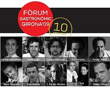 Fòrum Gastronòmic de Girona 2009