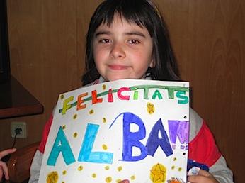 L'Alba ja té 10 anys!! (Gelatina tricolor)