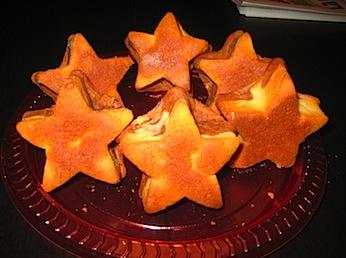 Estrelles de Muffins mestissos