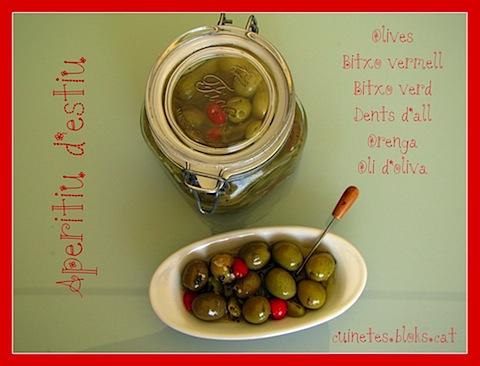 Olives d'estiu!