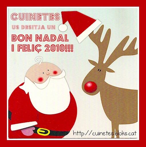 BON NADAL i FELIÇ 2010!!!! ^^