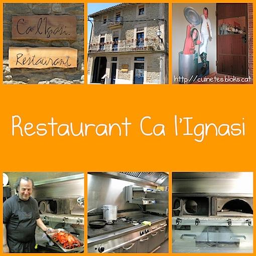 Restaurant Ca l'Ignasi (Cantonigròs)