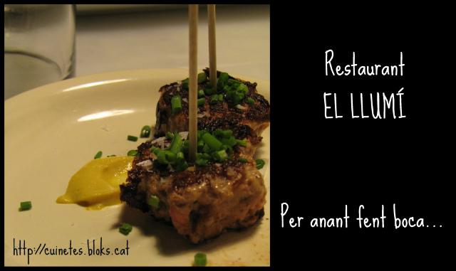 Restaurant El Llumí (12 anys de casats!!!)