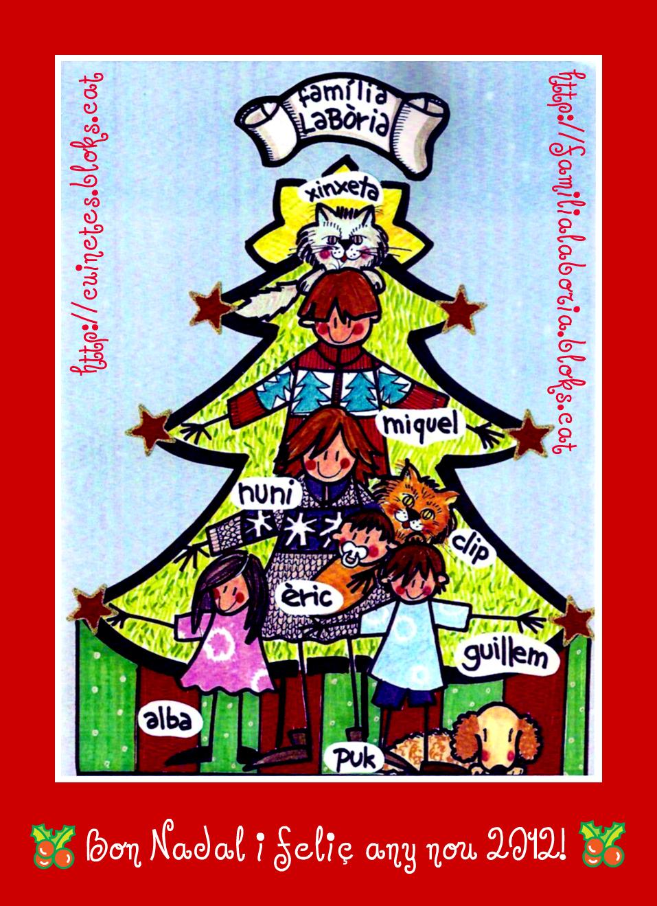 Bon Nadal i feliç 2012!!!