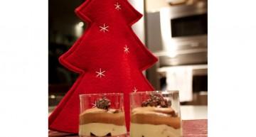 Brownie, crema de torró i Mousse de xocolata i caramel