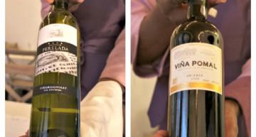 Chardonnay castell de Peralada i viña pomal crianza de 2009
