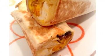 Burrito de bolets
