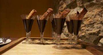 Xocolata, Pa amb oli i sal