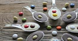 Culleretes decorades de xocolata