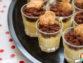 Gotets de crema catalana amb pa de pessic de xocolata i mini dino (l'Èric fa 5 anys!)