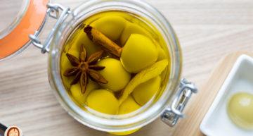 Esferificant les olives del Tickets amb Caviaroli